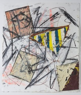 The Dorothy and Herbert Vogel Modern Art Collection - Photo 4 of 11 - Michael Goldberg, Untitled (43), 1992, oil and pastel. Bowdoin College Museum of Art, Brunswick, Maine, Dorothy and Herbert Vogel Collection Vogel Collection. Photography by Dennis Griggs.