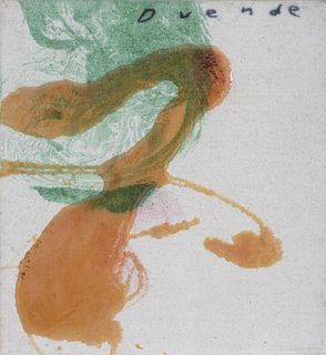The Dorothy and Herbert Vogel Modern Art Collection - Photo 8 of 11 - Julian Schnabel, Untitled, 1995, oil and polymer resin on canvas. Bowdoin College Museum of Art, Brunswick, Maine, Dorothy and Herbert Vogel Collection Vogel Collection. Photography by Dennis Griggs.