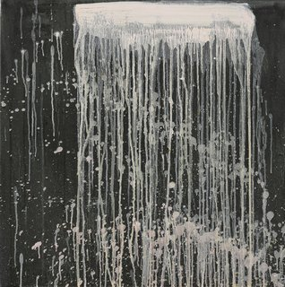 The Dorothy and Herbert Vogel Modern Art Collection - Photo 9 of 11 - Pat Steir, Small White Waterfall with Pink Splashes, 1995, oil on canvas. Bowdoin College Museum of Art, Brunswick, Maine. Dorothy and Herbert Vogel Collection Vogel Collection. Courtesy Cheim & Read, New York. Digital photography by Peter Siegel.