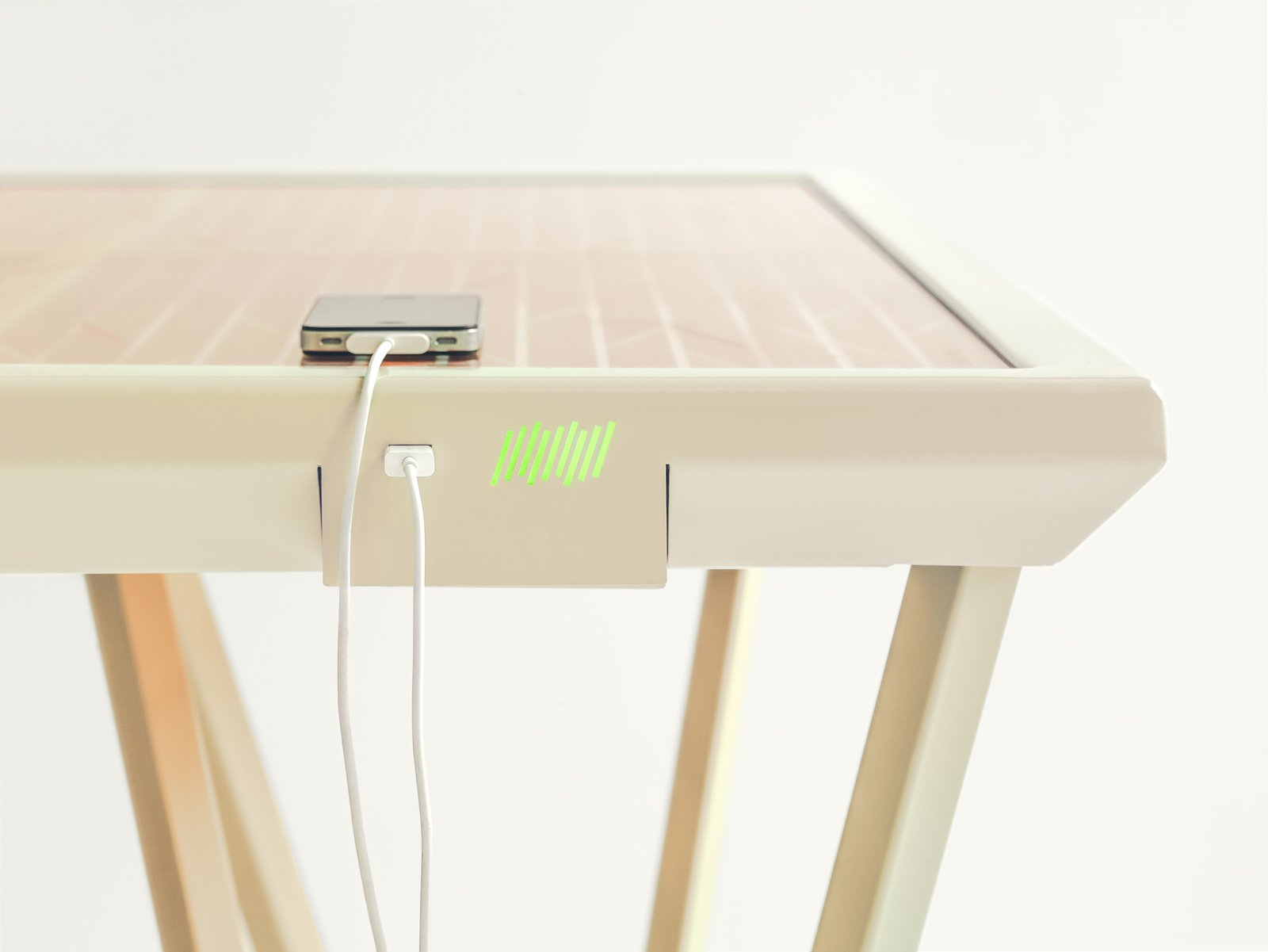 A Table That Charges Your iPhone