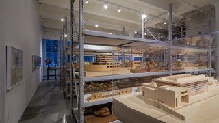 Richard Meier Model Museum Opens in New Jersey - Photo 4 of 7 - About 400 handmade models are on display at the museum. Additional models are stored at the Richard Meier & Partners offices in Manhattan. Photo courtesy of Steven Sze, Richard Meier & Partners.