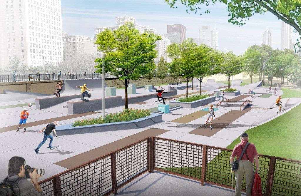 Chicago Crowdsources a Skate Park