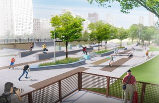 Chicago Crowdsources a Skate Park - Photo 1 of 4 -