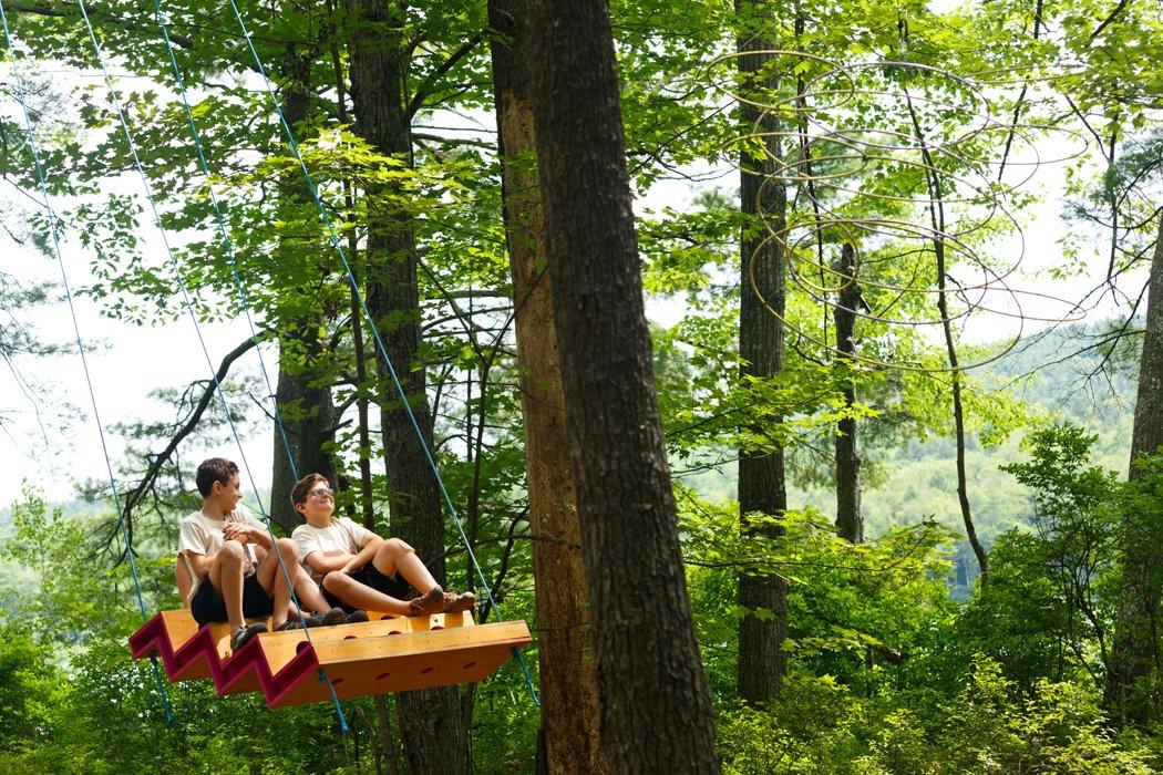 Photo 2 of 7 in Swingtones: Musical Swings Built by Kids
