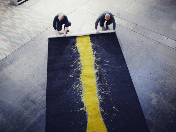 Art You Can Walk All Over: Carpet by Steffen Kehrle - Photo 3 of 7 -