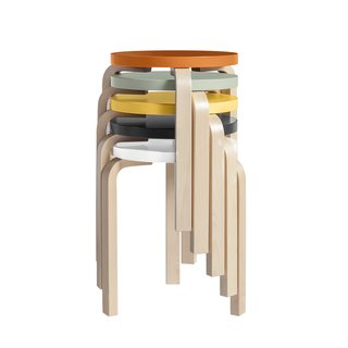 A Design Classic Reimagined: Artek Stool 60 - Photo 1 of 4 -