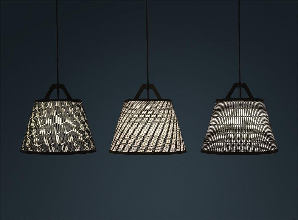 Lite-Brite Grows Up: Flatpack Paper Lamp