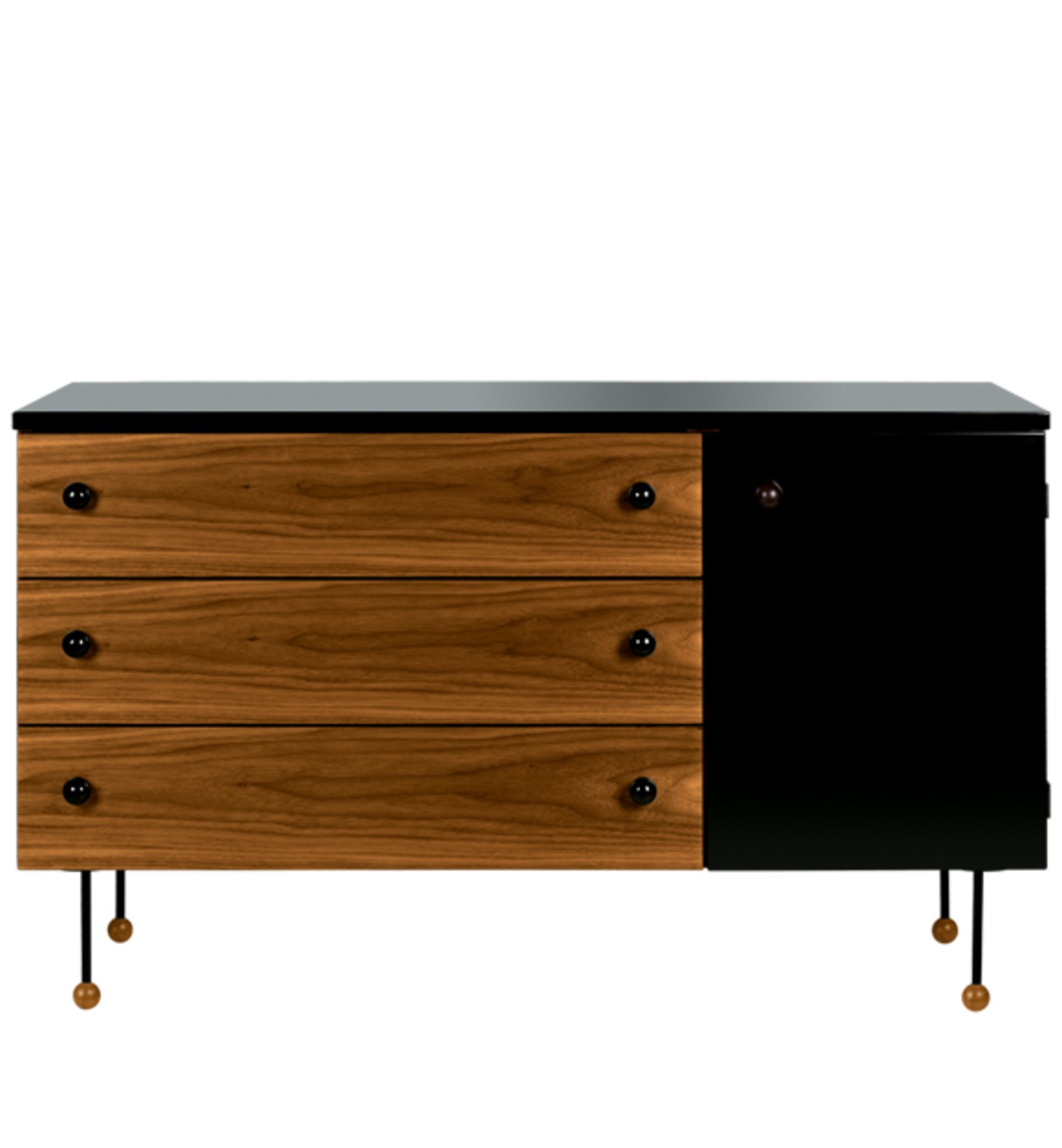 Grossman's 1952 collection, which included a desk and three dressers was named 62-Series because the design was thought to be ten years ahead of its time. Courtesy of Gubi.  Photo 6 of 8 in Design Icon: Greta Grossman
