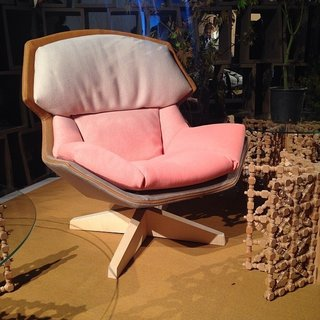 The gradient lives on. Patricia Urquiola for Moroso at Salone.