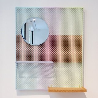We dig Inga Sempé's new wall-mounted vanity for Hay (also available in non-gradient versions).