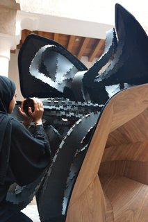 Soundsystem Built to Look Like a Cubist Minaret - Photo 4 of 4 -
