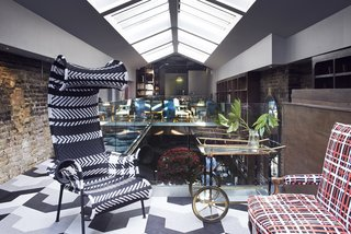 Lush Interiors for London's Elite New Design Club - Photo 5 of 10 -