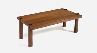 Mira Nakashima crafted the rare Shoki collection from her father's sketches from the 1940s.