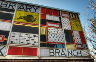 Near St. Louis, A Midcentury-Modern Public Library Faces Demolition - Photo 4 of 11 -