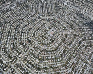 Suburban Sprawl Photographed from Above - Photo 1 of 5 -