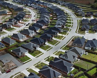 Suburban Sprawl Photographed from Above - Photo 2 of 5 -