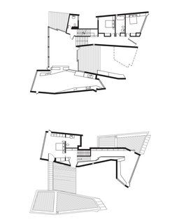 Fairhaven Beach House Floor Plan<br><br>A Deck<br><br>B Half Bathroom<br><br>C Guest Bedroom<br><br>D Entrance<br><br>E Living Room<br><br>F Deck<br><br>G Dining Room<br><br>H Kitchen<br><br>I Master Bedroom<br><br>J Master Bathroom
