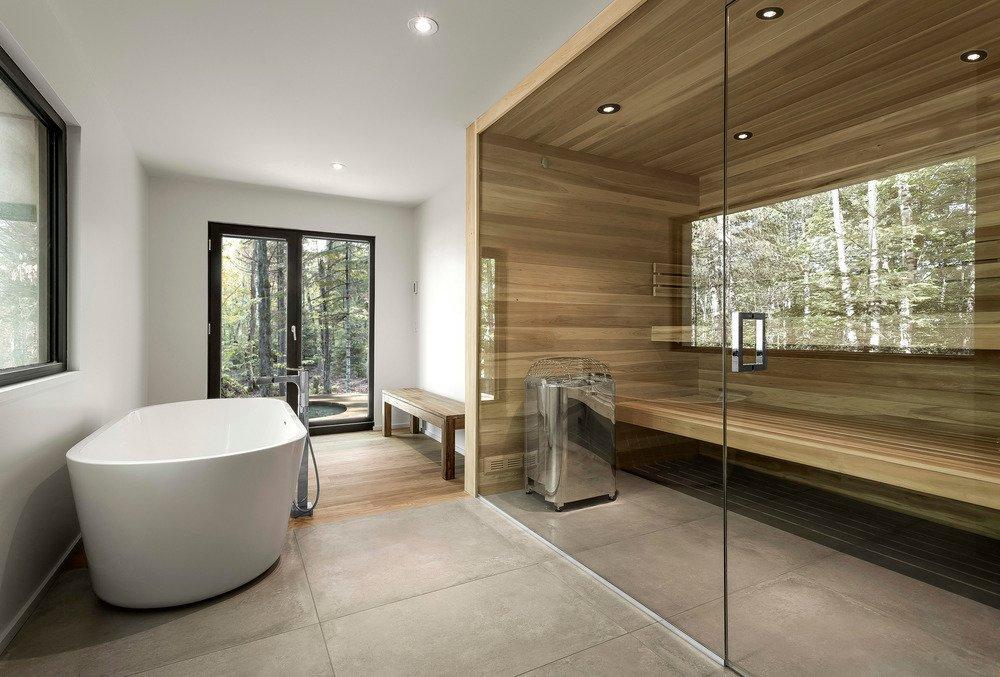 10 Sterling Saunas in Modern Homes