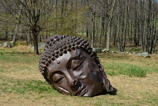Zhang Huan's work will be displayed at Storm King Art Center from May 3 to November 9, 2014. Image courtesy of Pace Gallery.