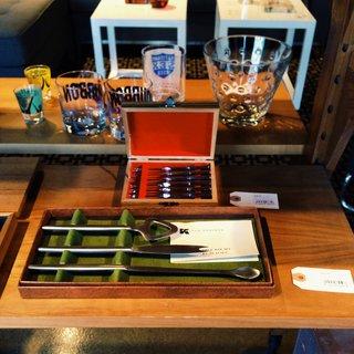 A Kalmar bar set.