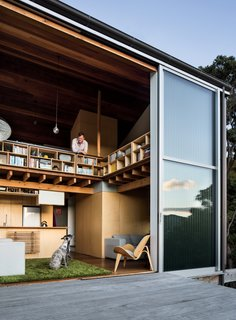 Leap Into the Year of the Dog With These 25 Pups in the Modern World - Photo 14 of 25 - Open enclosures and connections to adjacent living spaces keep the home inviting and airy rather than densely packed—a key feature for an owner of two dogs: Ben, a whippet, and Flynn, an Irish gypsy dog.