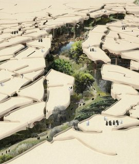 A Desert Blooms: A Middle Eastern Park Plan Breaks the Mold - Photo 1 of 3 -