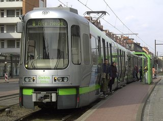 Hannover Tram System (1997) <br><br>Morrison was awarded a contract to redesign the tram system for Hannover, a half-billion Deutschemark project, and not only did he succeed, but the industrial designer won awards for his new transport system.<br><br>Photo by Wikimedia commons
