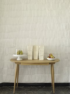 Artist's Dining Room in Valencia with Fringed Paper Walls - Photo 1 of 3 -