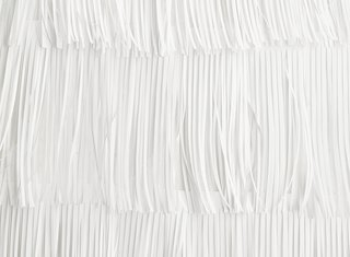 Artist's Dining Room in Valencia with Fringed Paper Walls - Photo 3 of 3 -