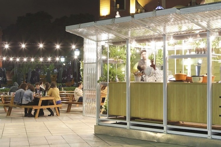 You'll Yearn For Summer After You See This Prefab Bar