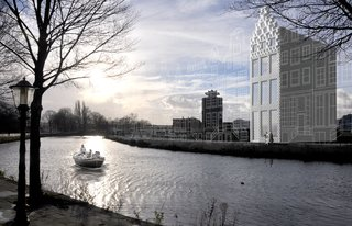 3-D Printed Canal House in Amsterdam - Photo 1 of 5 -
