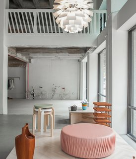 Expect a mix of furniture and accessories (like Domus black lacquered chairs, Mandals Veveri Bunad Blankets, and an array of Nordic design books), similar to what's on display at Austere's retail and educational space in downtown Los Angeles.