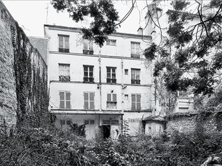 The site was an overgrown apartment building when Brambilla arrived.