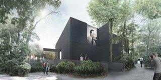Australia's Black Granite Box at Venice Architecture Biennale - Photo 1 of 3 -