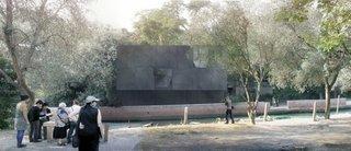 Australia's Black Granite Box at Venice Architecture Biennale - Photo 3 of 3 -