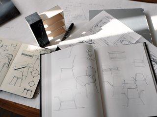 Eric's drawings.