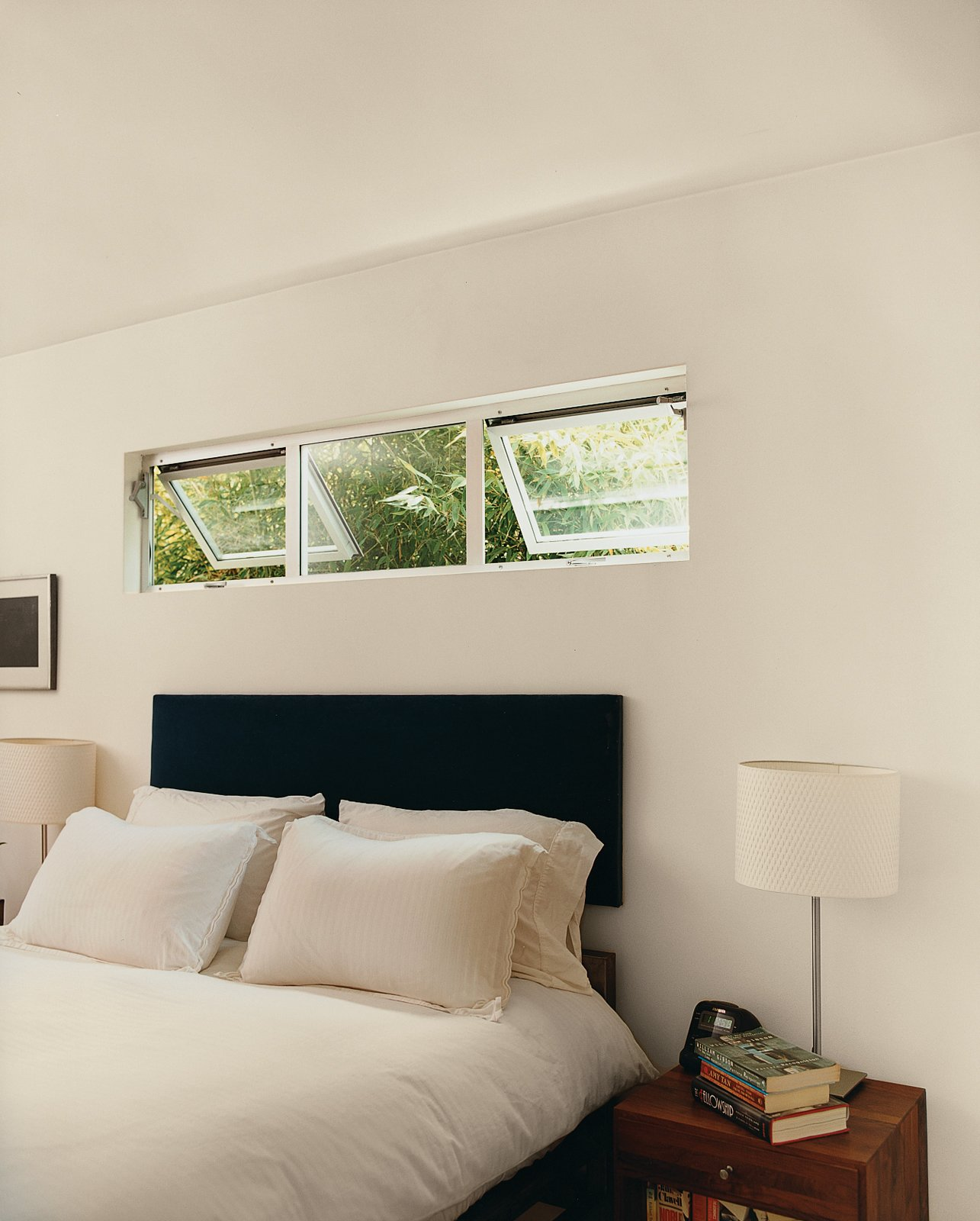 Bedroom Chunky steel bed frames in the bedrooms were Siegal's first attempt at furnishings.  Photo 9 of 14 in Method Lab