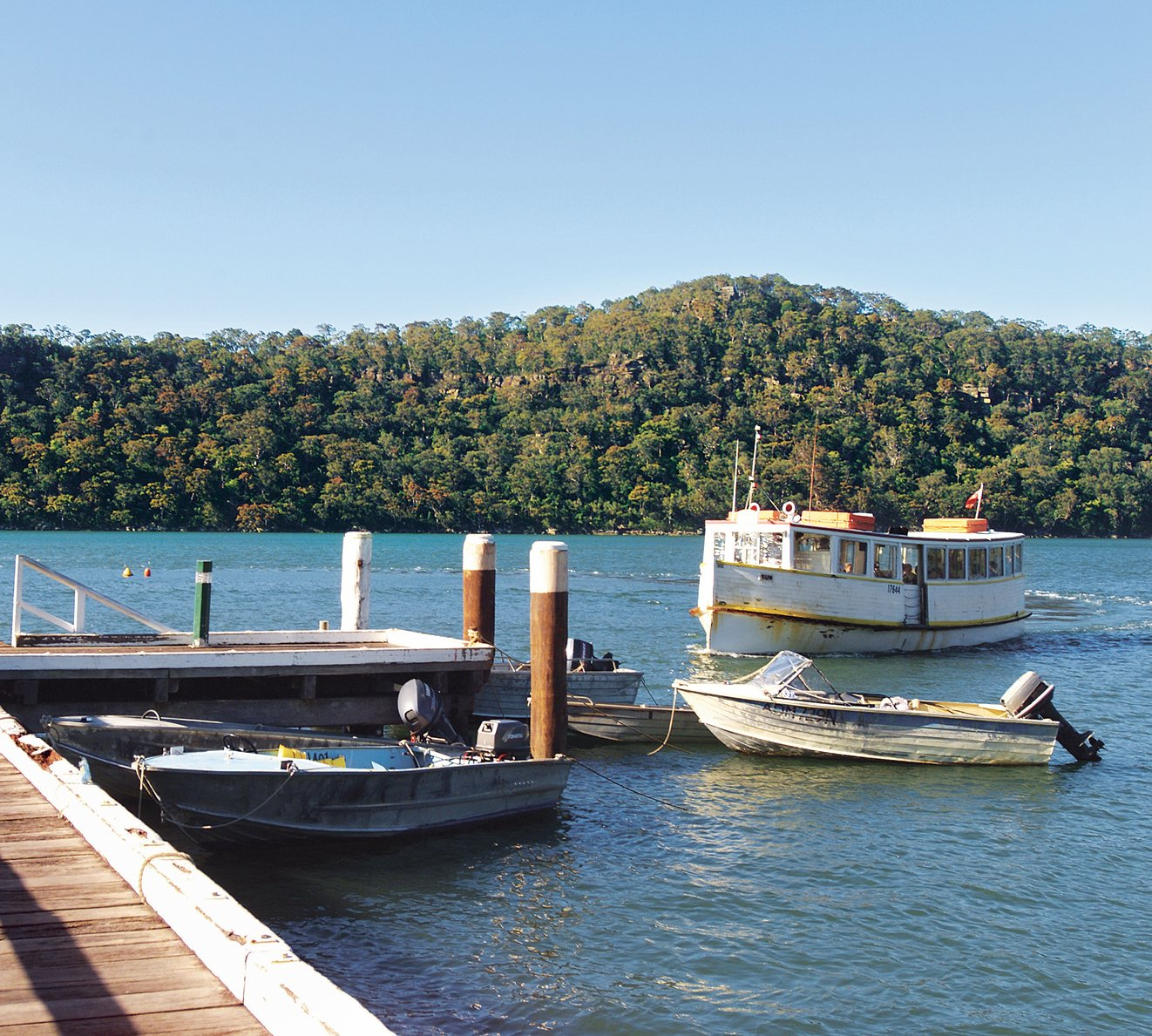 Because of the relative inaccessibility of Dangar Island, all building materials needed to be brought in by barge and carried to the site from the pier.  Photo 4 of 4 in Outback Staked House