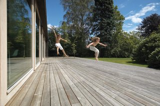We Summer in the Hamptons - Photo 6 of 6 - With a brood of energetic kids, the advantage of so much outdoor space is clear.