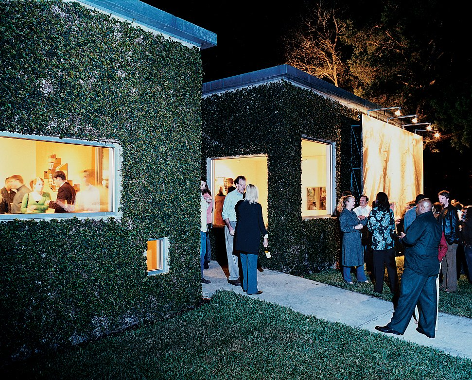 The home also acts as an occasional art gallery, comfortably accommodating Baton Rouge's art scene at one of the Bairds' many parties.  Photo 5 of 13 in Baton Rouge Oasis
