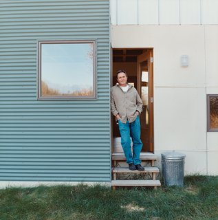 Bill Weber built his home while serving as his own general contractor.