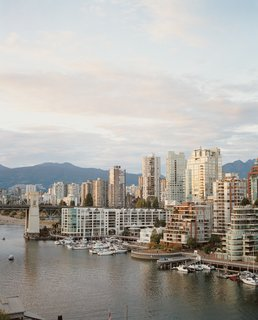 Vancouver is an extroverted city - Photo 1 of 7 - With the Coast Mountains in the background and the Strait of Georgia in the foreground, there's no bad view if you live in one of Vancouver's many midrises.