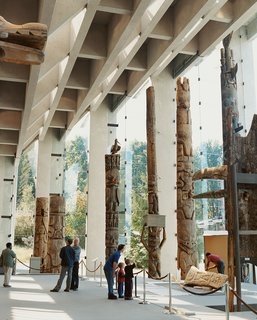 Vancouver is an extroverted city - Photo 3 of 7 - The interior of the Museum of Anthropology, created by Vancouver architect Arthur Erickson.