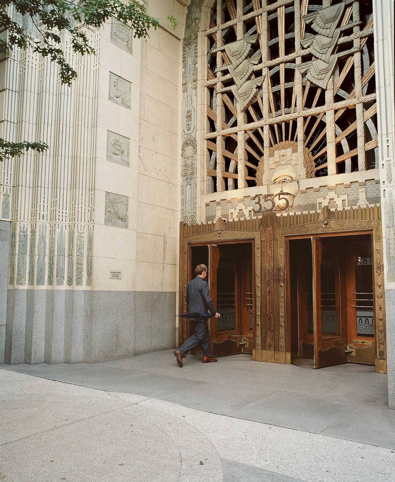 A masterful tribute to both aquatic ardor and to the intricacies of carving by hand, the Marine Building remains a well-preserved piece of Vancouver's Art Deco past.  Photo 5 of 8 in Vancouver is an extroverted city