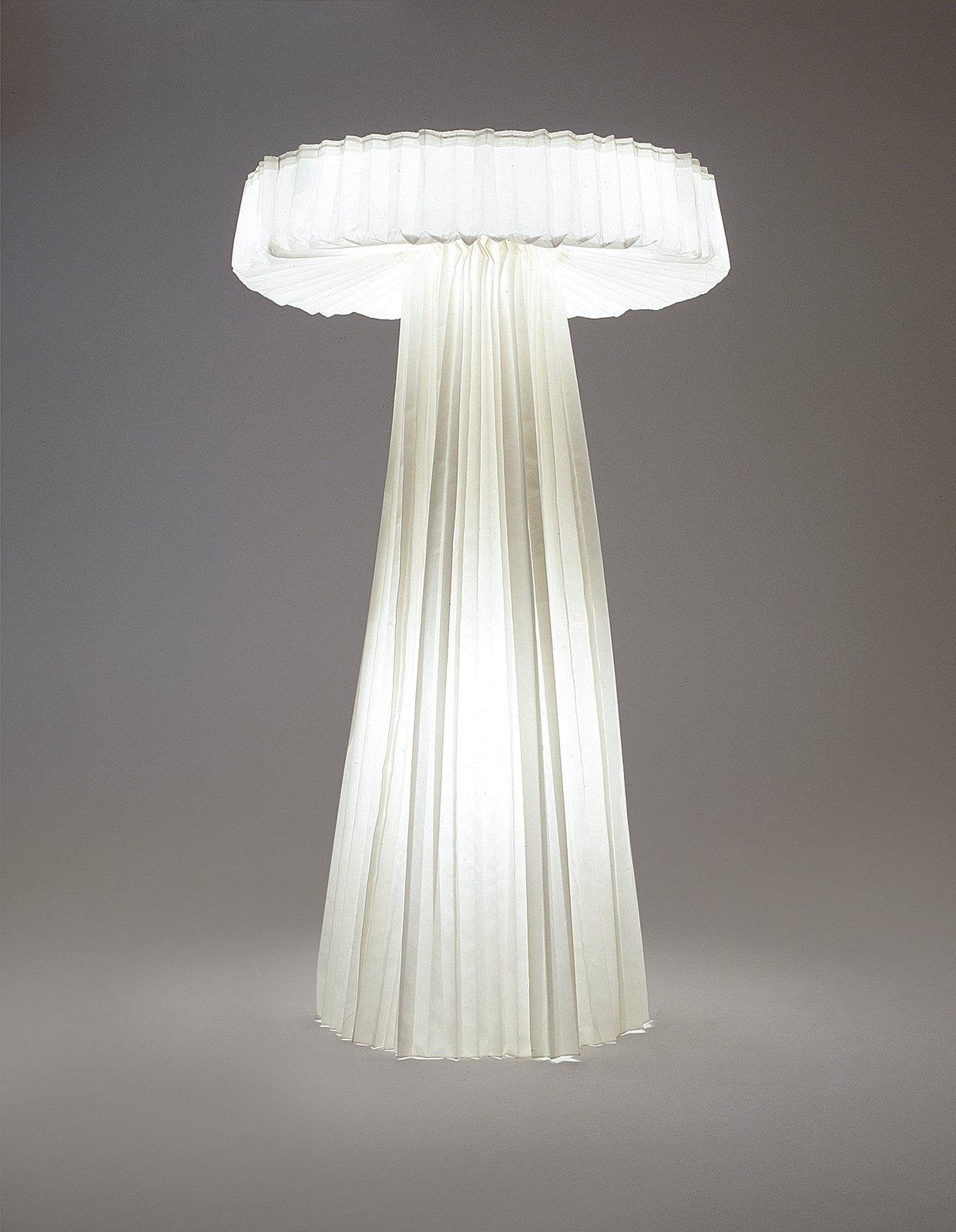Sempé's Grande Lampe Plissée for Cappellini.  Photo 2 of 8 in Plain and Sempé