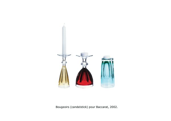 Bougeoirs for Baccarat.  Photo 3 of 8 in Plain and Sempé