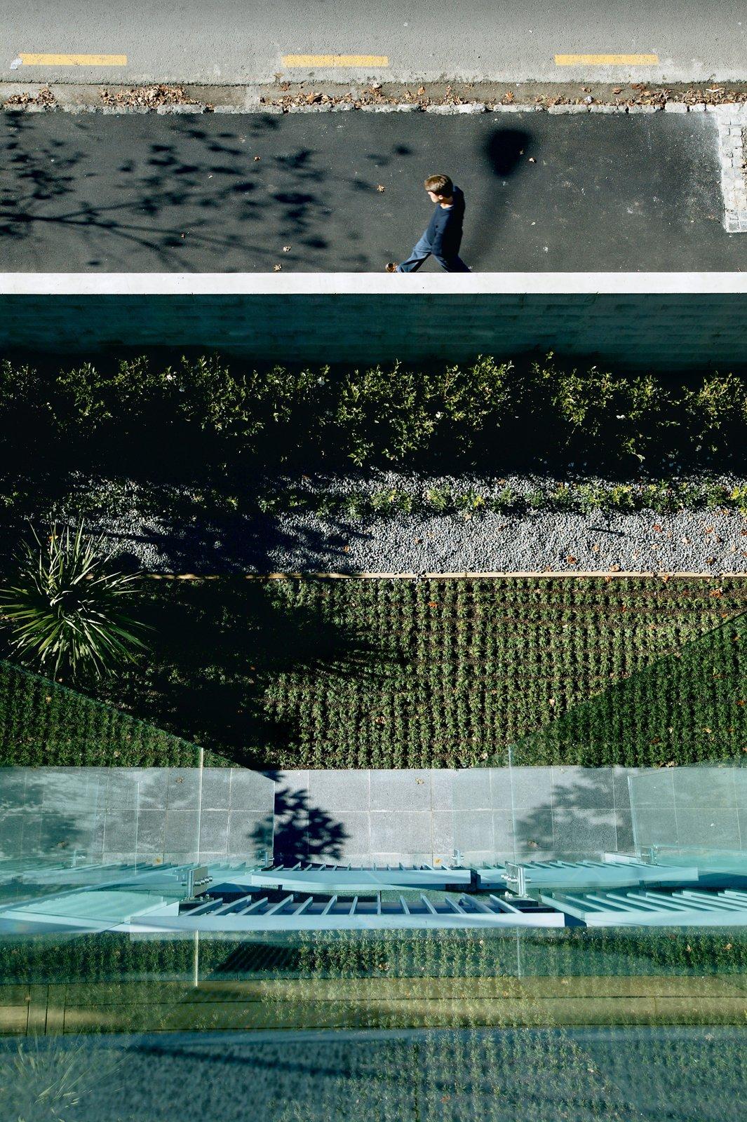 The grid-like garden by landscape architect Matthew Bradbury.  Photo 3 of 8 in Density Down Under