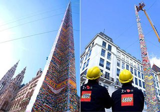 World's Tallest Lego Tower - Photo 2 of 2 -