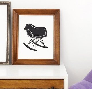 Eames Art on Etsy - Photo 1 of 6 -