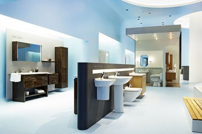 Blue Monday: Duravit Showroom Opens in NYC